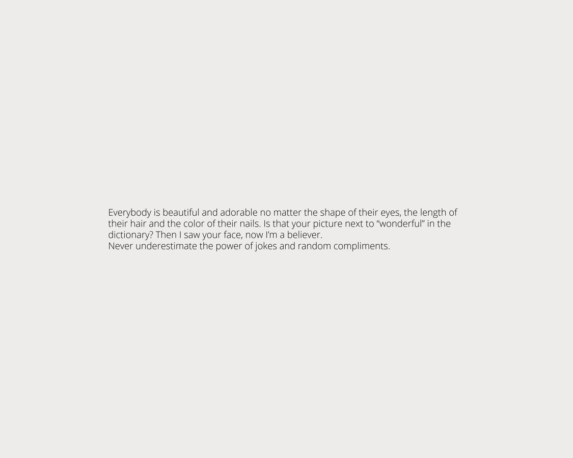 Minimalist Presentation Design