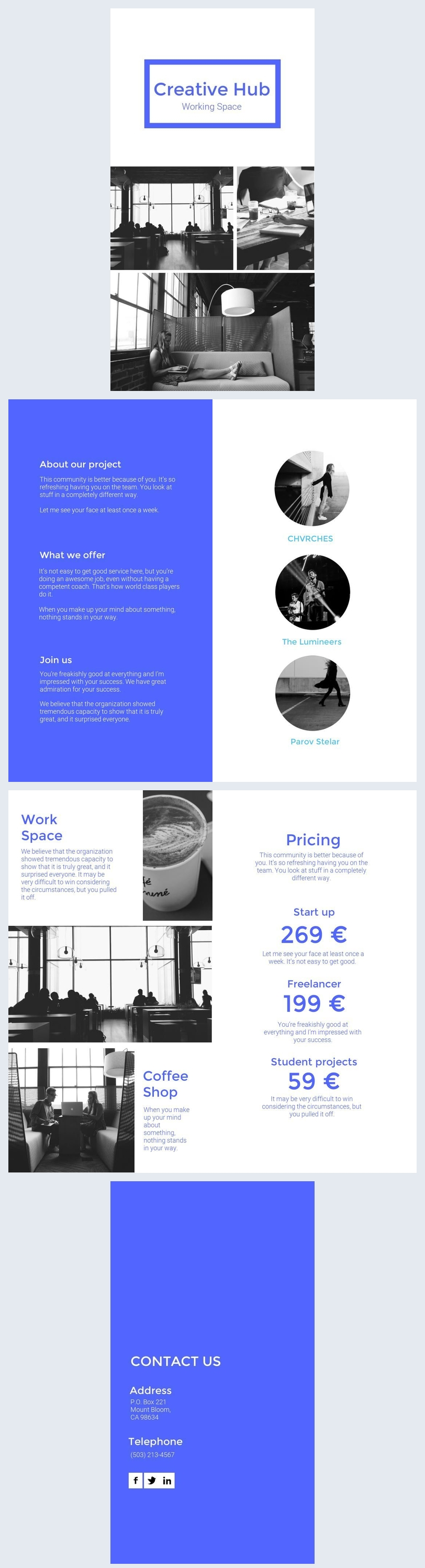 Modern Corporate Brochure Design