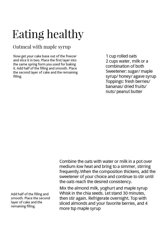 Minimalist Magazine Example