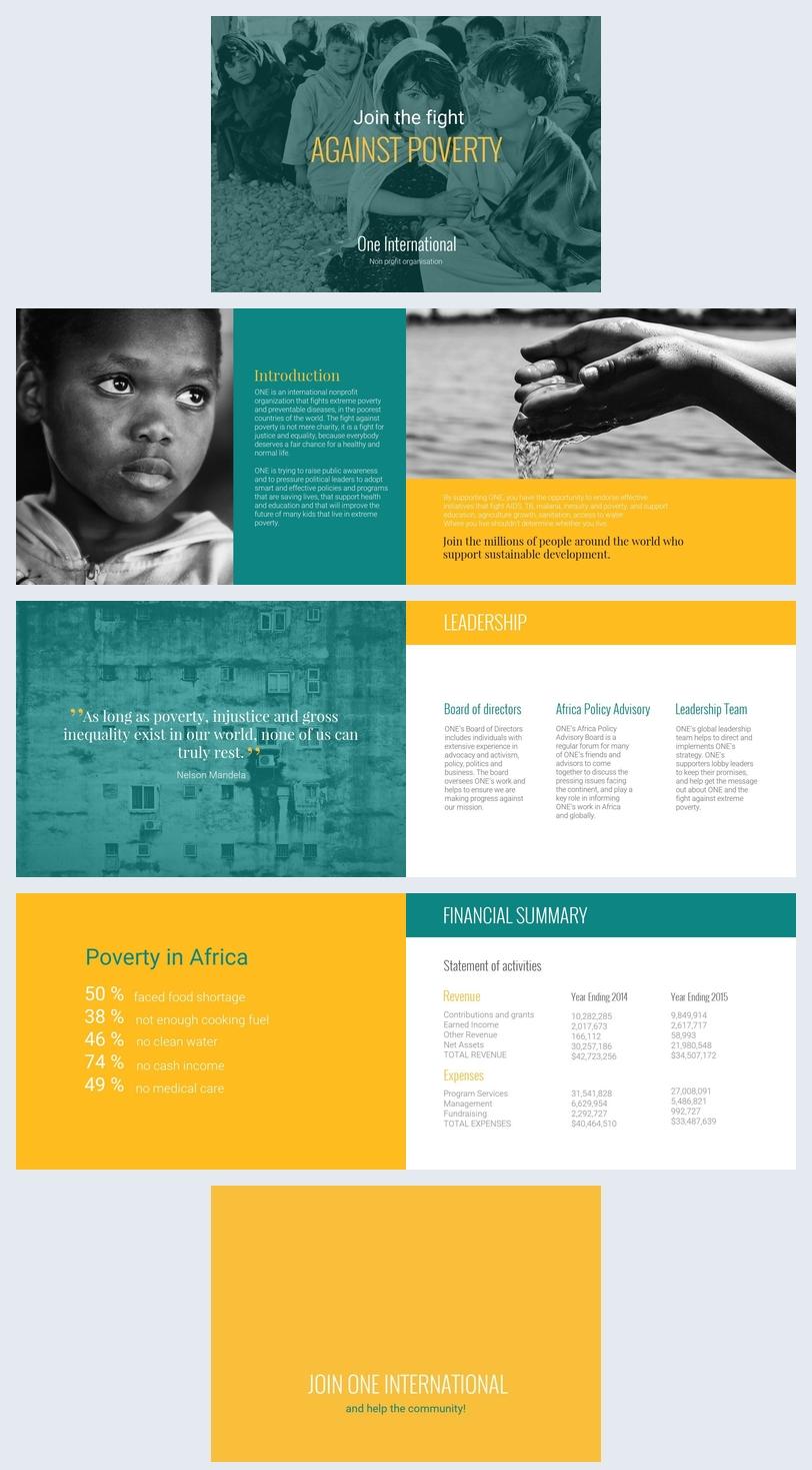 Design de Brochura de Angariação de Fundos