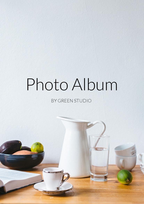 Online Photo Album Design