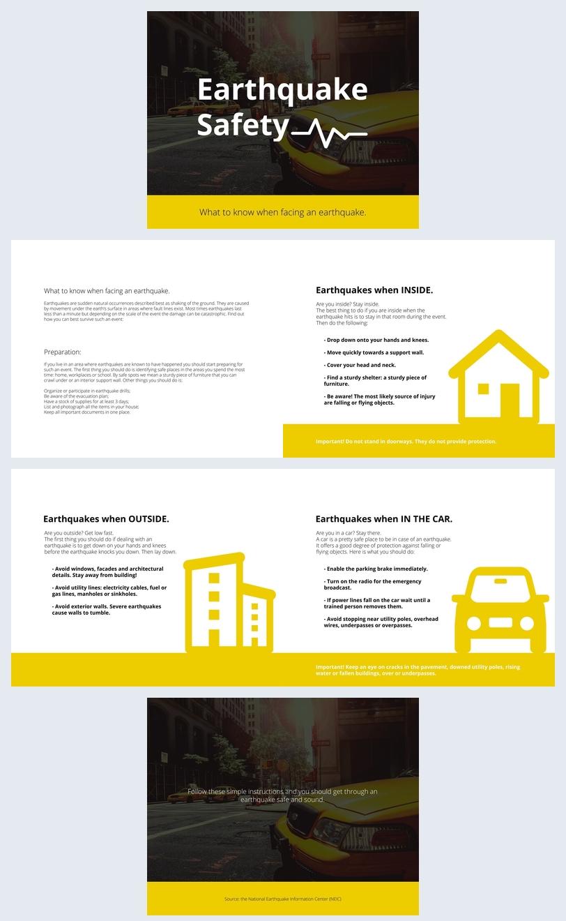 Safety Guide Presentation Design