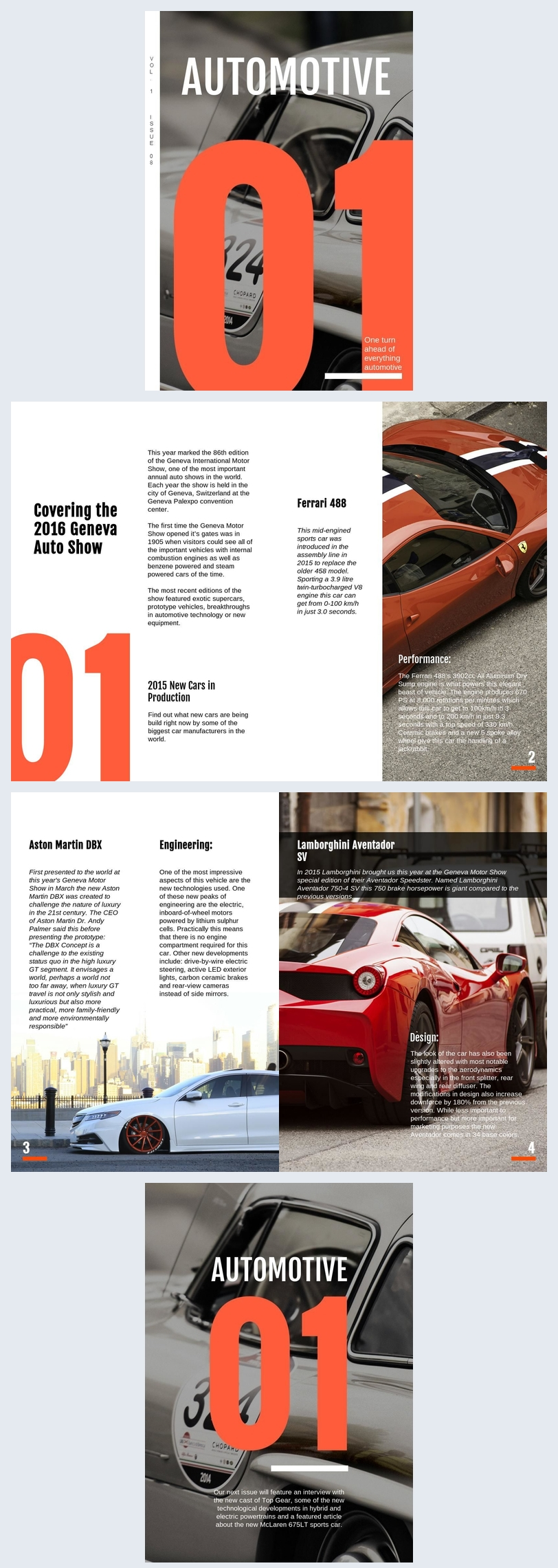 Design de brochure de produit