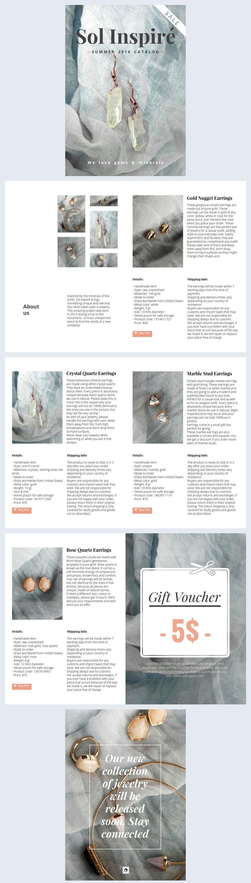 Design für Accessoires-Katalog