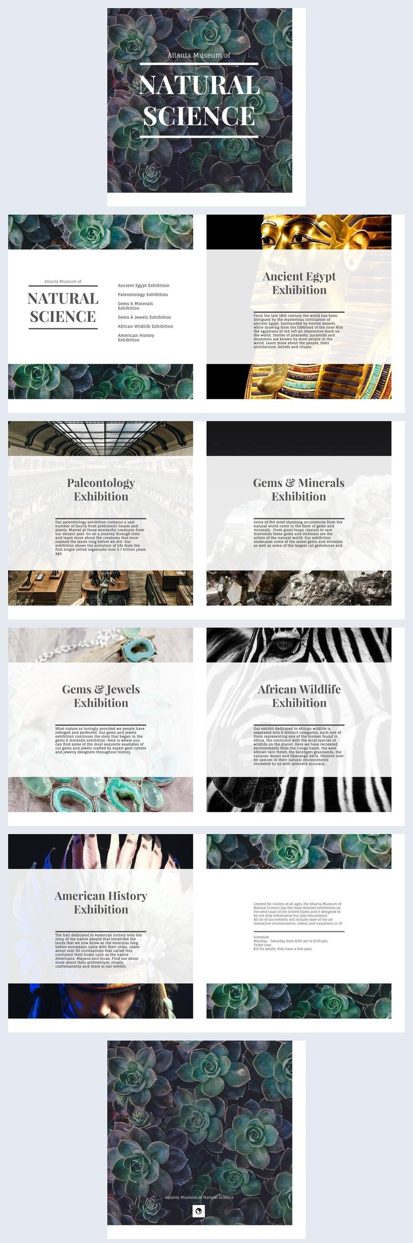 Museumbrochure Ontwerp