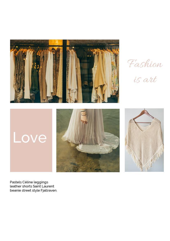 Women's Fashion Portfolio Design