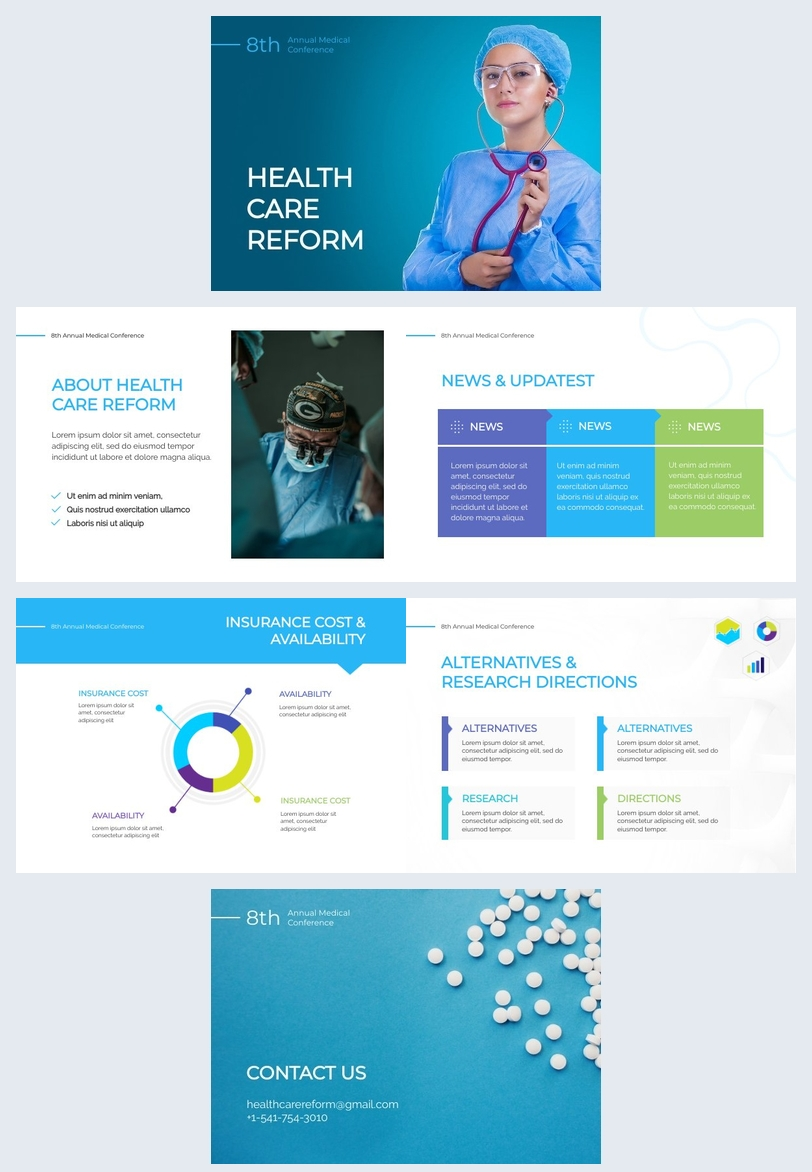 Medical Presentation Design