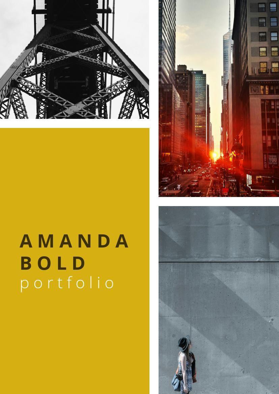 Modern Photography Portfolio Design