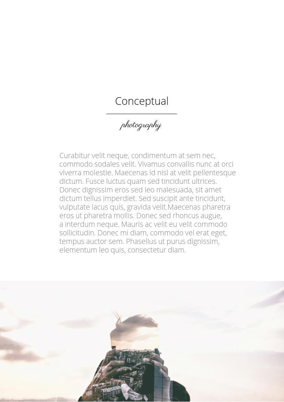 Bella plantilla color pastel para revista fotográfica - Flipsnack